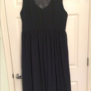 Lovedrobe Dresses - Plus size Formal, long navy and sequined dress.